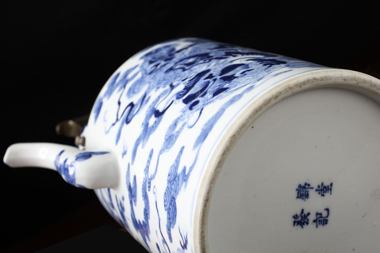 Antik kinesisk tekande DA15 - UNIK ANTIK. DK