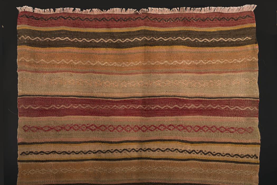 Semi antik kelimtæppe fra www.unikantik.dk  Kilim no. SH 101