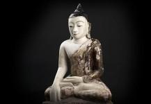 Antik buddha statue DA15  PRIS 29.500 Kr.