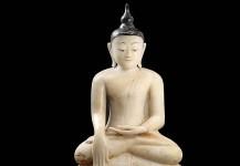 Antik Buddha, DA47, højde 75 cm, Pris opl. på forespørgsel.